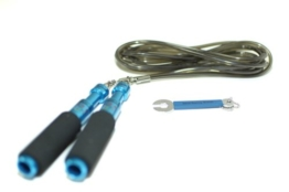 Buddy Lee's Aero Speed Jump Rope BLUE- High Speed Springseil -