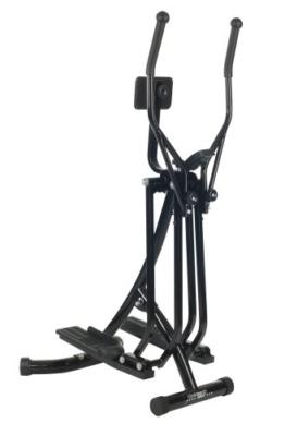 Christopeit Crosstrainer Walker deluxe, schwarz, 81 x 60 x 148 -