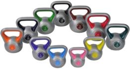 Color-Line Kettlebell Kugelhantel Hantel Gewicht Handgewicht inkl. deutschsprachiger bebilderter Trainingsanleitung - Größen frei wählbar (St.), 06 Kg Kettlebell (St.) -