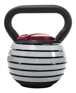 Fitness House 4 À 18.5 kg 7 Kettlebells En 1. Hantel Verstellbar, Grey, One Size, 889957338851 -
