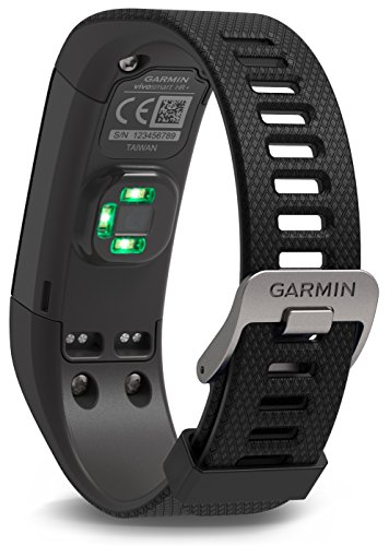 Garmin Activity Tracker vivosmart GPS plus HR WW Black, M - L, 010-01955-30 -