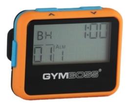 Gymboss Intervallzeitgeber Und Stoppuhr ORANGE / BLAU SOFTBESCHICHTUNG -