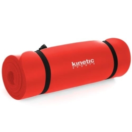 Kinetic Sport YM02 Yogamatte 180 x 60 x 1cm Rot -