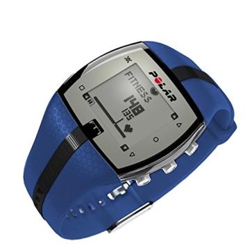 Polar Herzfrequenz-Messgerät Fitness Uhr, Blau/Schwarz, 90054893 -