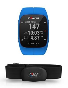Polar M400 GPS-Laufuhr, blue, 90061177 -