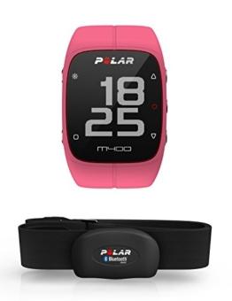 Polar M400 GPS-Laufuhr, pink, 90061177 -