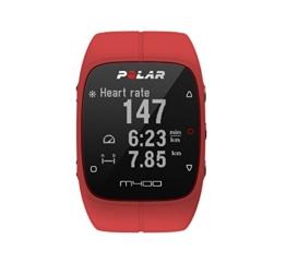 Polar M400 GPS-Laufuhr, red, 90061177 -