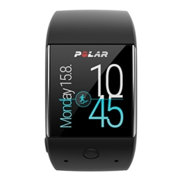 Polar M600 Sportuhr Powered by Android Wear M/L schwarz -