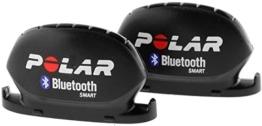 POLAR Sportuhr Geschwindigkeits Trittfrequenzsensor BluetoothSmart, 91047327 -