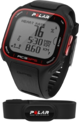 POLAR Sportuhr RC3 GPS HR Black, 90051072 -