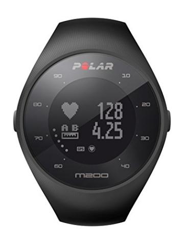 Polar Sportuhr, Schwarz, Größe M/L, M200 -