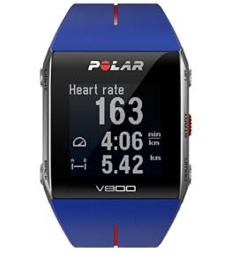 POLAR Trainingcomputer V800, Blue Red, 90048945 -