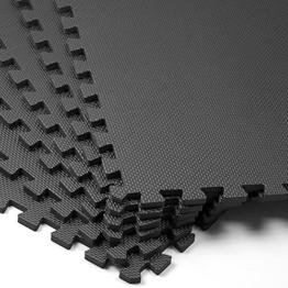 Puzzlematte 6er Set - Bodenschutzmatte - 183,5 x 123,5cm Spielmatte Sportmatte Spielteppich -