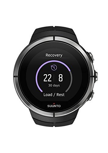 Suunto, Spartan ULTRA Black, GPS-Uhr für Multisport-Athleten, Unisex, 26 Std. Akkulaufzeit, Wasserdicht, Farbtouchscreen, Schwarz, SS022659000 -