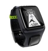 TomTom GPS Sportuhr Runner, Black, One size, 1RR0.001.06 -