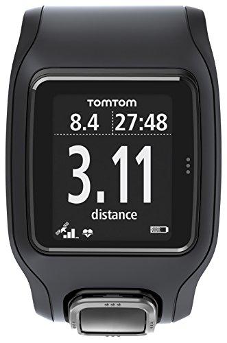 TomTom Runner Cardio GPS-Sportuhr schwarz -