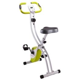 Ultrasport Heimtrainer F-Bike 150, Weiss/Grün, 331400000070 -