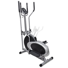 vidaXL Heimtrainer Ergometer Fitness Stepper Walking Ellipsentrainer -