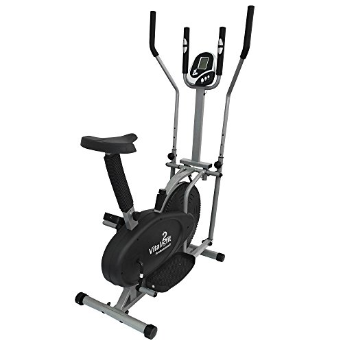 vitalifit heimtrainer ergometer crosstrainer stepper. Black Bedroom Furniture Sets. Home Design Ideas