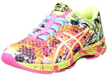 ASICS Gel-noosa Tri 11, Damen Laufschuhe, Pink (hot Pink/flash Yellow/black  3407), 40.5 EU
