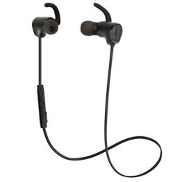 Bluesim Bluetooth Kopfhörer Bluetooth 4.1 Sportkopfhörer Magnetisch Stereo In Ear Kopfhörer Sport Kabellos Ohrhörer mit Mikrofon und AptX Stereo Headset Schweißabweisend Wireless Kopfhoerer für Handy Smartphone Tablet iPad iPhone 7 6 6S 6 Plus SE Huawei P8 P9 Mate Samsung Galaxy (Schwarz) -