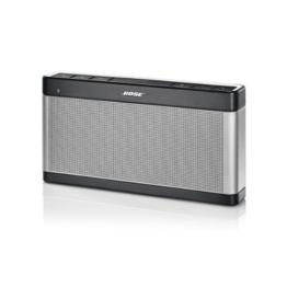 Bose SoundLink Bluetooth Lautsprecher III silber -