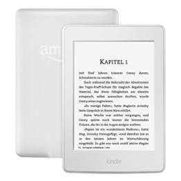 Kindle Paperwhite eReader, 15 cm (6 Zoll) hochauflösendes Display (300 ppi) mit integrierter Beleuchtung, WLAN (Weiß) -