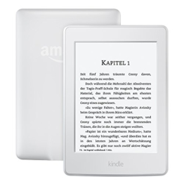 Kindle Paperwhite eReader, 15 cm (6 Zoll) hochauflösendes Display (300 ppi) mit integrierter Beleuchtung, WLAN (Weiß) - mit Spezialangeboten -