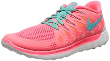 Nike Free 5.0, Damen Laufschuhe, Pink (Hyper Punch/Hyper JD-Bright Mng  600), 40.5 EU