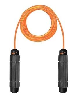 Nike Erwachsene Speed Rope 2.0 Geschwindigkeit Seil, Orange/Grau/Schwarz -
