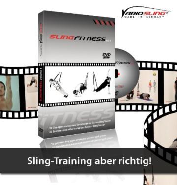 Variosling DVD Slingfitness Vol.1, rot schwarz, Dvd01 -