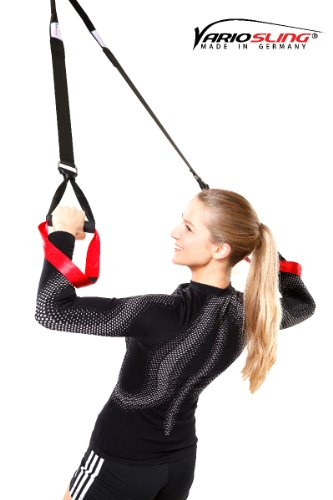Variosling Sling Trainer Basic Paket, rot schwarz, VS-03 -