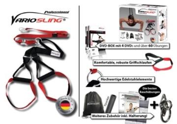Variosling Sling Trainer Professional Paket, rot schwarz, VS-04 -