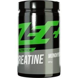 ZEC+ CREATIN Pulver MONOHYDRATE | reines Creatin Monohydrat für mehr Kraft | mehr Ausdauer | Muskelwachstum | Kraftschub | Geschmacksneutral | 500g Pulver -