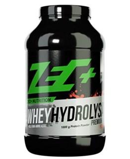 ZEC+ Protein Pulver HYDROLYSAT | hochwertigstes WHEY Proteinpulver | enzymatisch aufgespalten für optimale Aufnahme und schnelle Resorption Geschmack PFIRSICH 1000g -