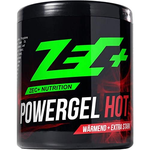 ZEC+ Sportgel POWERGEL HOT | wärmendes SCHMERZGEL