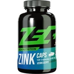 ZEC+ ZINK Caps | Stärkung des Immunsystems | HALAL | Zink in optimaler Bioverfügbarkeit | Aromatasehemmer, wichtiges Mineral im Kraftsport/Bodybuilding | beugt Zink-Mangel vor | 120 Kapseln -
