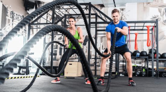 Sport im Alter Seile