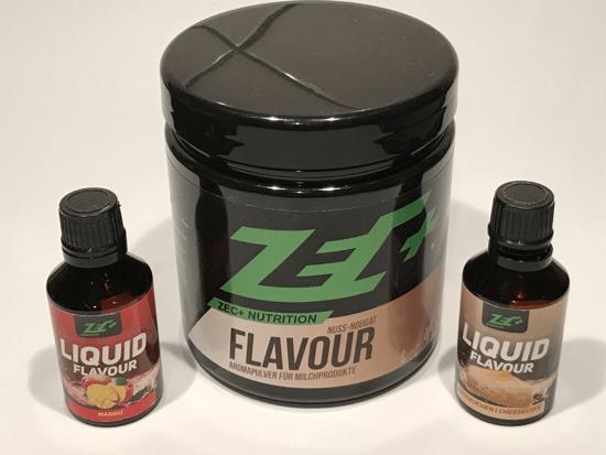 Geschmack Pulver für Magerquark | Zec Plus
