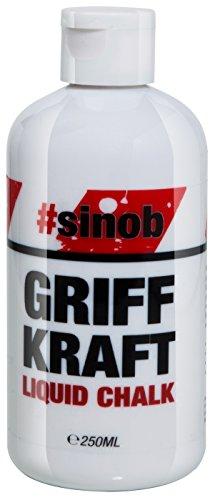 BlackLine 2.0 Griff Kraft Liquid Chalk Flüssigkreide Magnesiumcarbonat Gripp-Enhancer Hände Bleiben Trocken Perfekter Halt (250ml) - 1