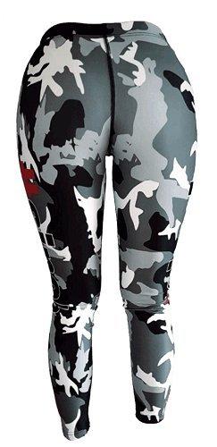 BlackLine 2.0 Leggins CamouflArsch Hose Sport Fitness Gym Bodybuilding Größe / Size S - 5