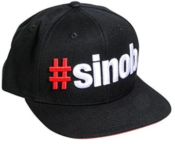 BlackLine 2.0 Snapback #SINOB Cappy Cap Mütze Caps Kappe Für Damen Und Herren (Classic) - 1