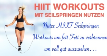 HIIT Seilspringen Workut