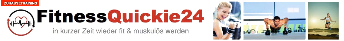 ZUHAUSE TRAINING mit FITNESSQUICKIE24