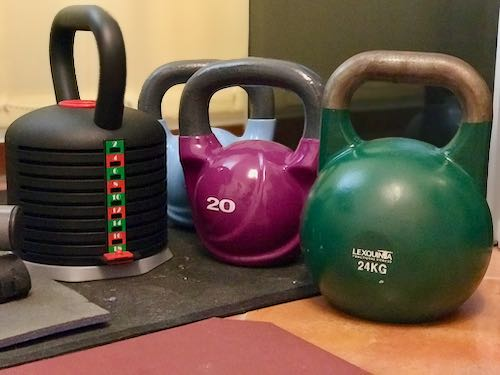 Trainingsgerät für zuhause - die Kettlebell
